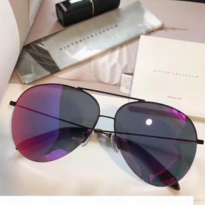 lunettes de soleil pour hommes lunettes de soleil pour les femmes oculos de sol Mode de revêtement design de la marque de lunettes de lunettes de soleil Victoria Beckham