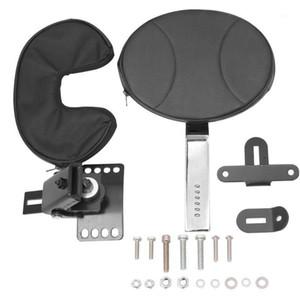 For Touring FLTR FLHT 97-18 Adjustable Plug-In Driver Rider Backrest Kit Motorcycle Black1