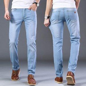 2020 Sulee Jeans leicht ausgestellter Slim Fit Jeans Blau Schwarz Designer Klassische Male Stretch Denim
