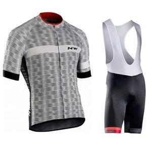 2020 Nw Team Cycling Short Sleeves Jersey Bib Shorts Sets 2020 Mens Kits Summer Quick Dry Bicycle Clothing U41308