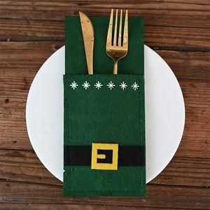 NOWELY ORISTAIN BACK BACK SANTA CLAUS BELLES STYLES سكين و شوكة المائدة أصحاب الجدول أطباق غطاء من المنزل عيد الميلاد party1 6hq e1