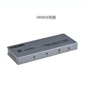 HDMI splitter one input two output video one point two 1080P HD
