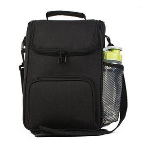 2020 Été Nouveau Oxford Tissu Étudiant Isolation Cold Storage Cross-Corps Sac à pique-nique Sacs de pique-nique Grandes sacs à lunch pour Unisexe1