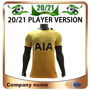 20/21 Spurs Player version # 9 BALE Soccer Jersey 2020 Troisième loin LUCAS SON DELE football shirt KANE football uniforme