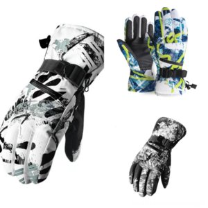 XDTXF Aired Mid-Finger Motorcycle Skiing Gloves Motorbike Outdoor Sports Engranajes Negro Para Deportes transpirables Protectores Protectores Afile