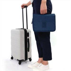 Hanging Toiletry Bag Large Kit Folding Makeup Organizer for Men amp; Women Travel Cosmetic Storage MakeUp Bag