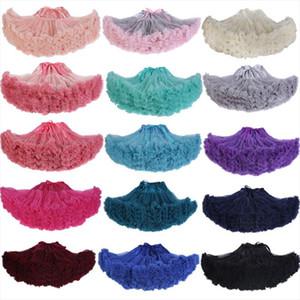 2020 Extra Fluffy Teenage Girl Adualt Women Pettiskirt Tutu Women Tutu Party Dance Adult Skirt Performance Cloth Skirts