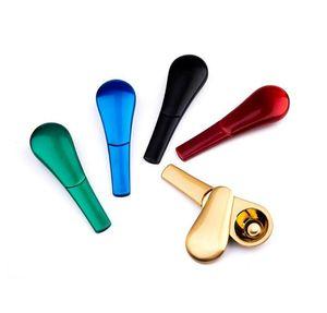 Разборные металлические магниты курительные трубы трубы курительные трубы из цинкового сплава магнитные 95 мм длина табачных труб табачек сигарета труба для курения YL161