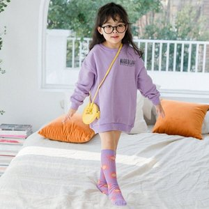 2020 2020 Childrens Ya Small Flowers Cotton Fan Cute Straight Socks Colorful Tube Sock New Selling prXl#