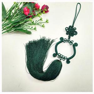 1PCs Guanyin Bassin Chinois Knot Tassel Diy Bijoux Rideau Vêtement Home Textile Accessoires Décoratifs Artisanat Pendentif H Jllqti
