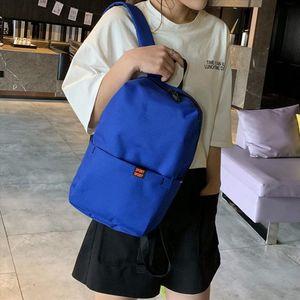 New High Quality Waterproof Nylon Backpack Women Teenage Casual Lightweight School Bag Lightweight Outdoor Women Travel Backpack