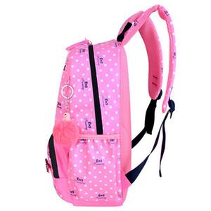 3pcs set Printing School Bags Backpacks Schoolbag Fashion Kids Lovely Backpack For Children Girls School bag Student Mochila sac 200929