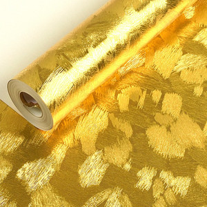 Luxury Glitter embossed Wallpaper Background Wall Wallpaper Gold Foil Wallpaper Ceiling Wall covering Papel De Parede 3D