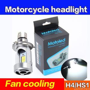 1 قطعة دراجة نارية الجبهة الضوء H4 18W LED YAMAHA HONDA للدراجات النارية العلوي COB لمبة 3000LM 6000K مرحبا / لو شعاع الضوء