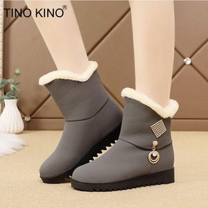Women Snow Boots Ladies Shoes Winter Ankle Boots Warm Plush Soft Comfort Woman Non Slip Crystal Casual Female Footwear