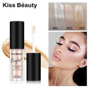 Kiss Beauty 2.7g Face Glow Liquid Highlighter Makeup Face Contouring Brighten Shimmer Cosmetics Concealer Highlighters Primer