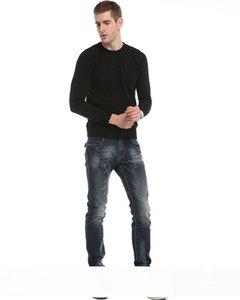 Sıcak Satış Yeni Geliş Denim Uzun Pantolon Erkekler Jeans, Sonbahar Kış 2018 Moda Günlük Pamuk Jeans Men Toptan pantolon
