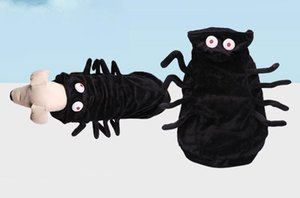 Delicate Halloween Spider Dog Pet Cat Costume Cosplay Outfit With Dog Hat Party Dress Funny Chihuahua Dog Clothes