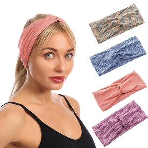 Sports Headbands for Women Elastic Non Slip Stretchy Hairband Workout Sweatbands Gym Yoga Head Wrap for Women Men