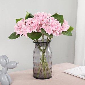 الحرير الهيدروجال الزهور الاصطناعية باقة للديكور المنزل الجذعية طويلة الزهور وهمية في زهرية زفاف الديكور ل table1