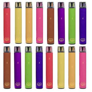 Puff Max Einweg Vape Pen Devices 2000 Puffs 1200mAh Akku Prefilled Vapor Bar Direct System Draw e Zigaretten Lokale