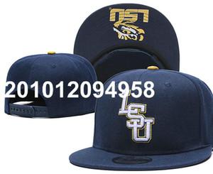 LSU Tigers Hat Fashion Design Crimson Tide All Team NCAA Adjustable Cap Hip Hop Adjustable Hats Fan's USA College Snapback Caps a0