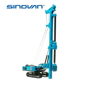 Alloy Rotary Drilling Rig Crawler Excavator Diecast Construction toy Vehicles Model Children Collection Decoration Model car Toy