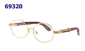 2020 Fashionless Redless Redd Sunglasses Hombres Madera y Naturaleza Búfalo Cuerno Hombre Conducción Sombra Gafas Moda Moda Deporte Gafas Sol de Vidrio con