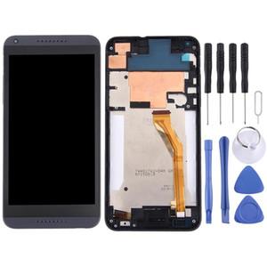 LCD-Display-Touchpanel mit Rahmen für HTC Desire 816