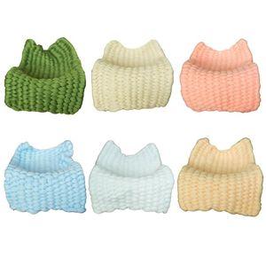 Blanket New recém-nascido Fotografia Props malha Crochet do bebê Crianças Basket Acessório