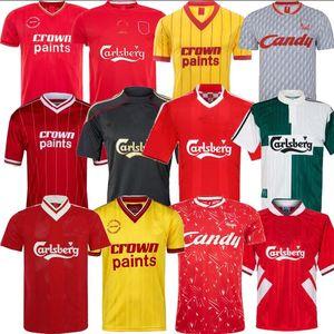 Gerrard Barnes Retro Fußball-Trikot Liverpool 2005 owen Dalglish 00 01 96 97 10 11 TORRES 09 82 89 08 91 85 86 Keane Fußball-Hemden