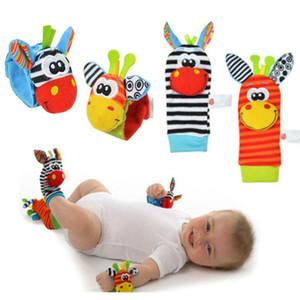 Baby-hochet Jouets Poignet Foot Finder Petit Jouet Soft Baby Boy pour 0-12 mois Enfants Enfants Nouveau-né Chaussettes en peluche Brinquedos