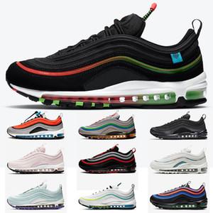 Top Quality World World Homens negros Mulheres Correndo Tênis Triplo Branco Preto Multi Silver Bullet Speakers Sneakers Mens Trainers