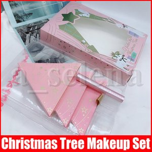 Maquiagem Rosto Set Sob a árvore de Natal contém dois sombra Blush Palette e um com Better Than Sex Mascara