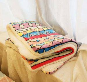 Warm Dog Winter Blanket Cashmere Sleeping Thicken Pet Pad Comfortable Soft Nest Mat Quilt Double Autumn Flannel Fleece Cat jlljg