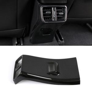 Auto Car Accessories Rear Seat Back Air Vent Outlet Cover Trim Sticker Frame Interior Decoration for Lexus UX ZA10 2019 2020