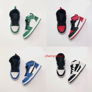 2021 Infants 1s Toddler Basketball Sneaker Pine Green Game Royal Scotts Obsidian Chicago Bred Melody Mid Multi-Color Tie-Dye Kids Shoes