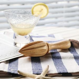Beech Lemon Juicer Manually Wooden Lemon Squeezer Orange Citrus Juice Extractor Lemon Reamer Without Lacquer Wax KKF2023