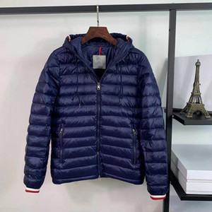 New Winter Parka Men Classic Maya Casual Down Mens Stylist Outdoor Caldo sottile giacca con cappuccio sottile Cappotto da sci di alta qualità Outwear