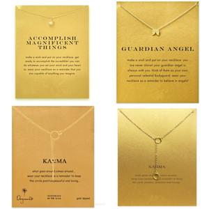 Einhorn-Legierung Halsketten-Frauen-Mann-Mode-Anhänger-Schmuck-einfache Art Ursprünglichkeit Kette Elefant Bow Flügel-Liebes-Herz-1 8jfa F2B