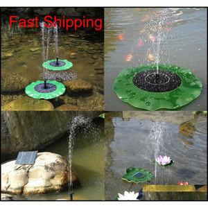 Solar Water Pump Floating Water Pomp Panel Kit Fountain Pool Pump Kit Lotus Leaf Floating Pond Watering Submersib qylkhb packing2010