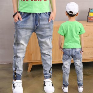 Boy Jeans Loose Solid Casual For spring Autumn Boys Jeans Children's Fashion Jeans