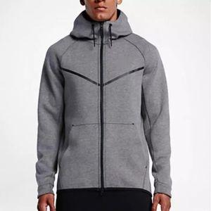 2017 nuovo autunno inverno grandi dimensioni Felpa con cappuccio SPORTSWEAR TECH PILE WINDRUNNEOR giacca sportiva di svago di corsa di fitness cappotto