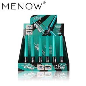 MENOW Soft Head Brush Eyeliner Thick Black Waterproof Sweatproof Not Blooming Eyeliner Seal Beauty Makeup Eye Care
