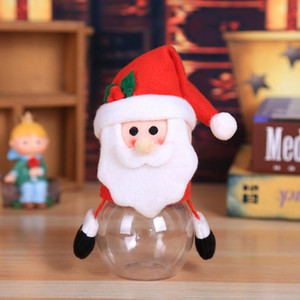 Christmas Candy Jar Children Kids Storage Bottle Santa Bag Christmas Sweet Box Gift Chocolate Candy Box Natale Decorazioni yxlspM homes2007