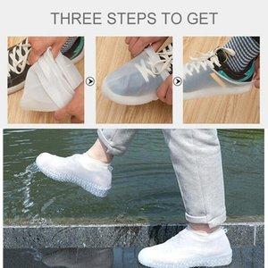 Su geçirmez Ayakkabı Yağmur Sile Için Kapakları Sile Ayakkabı Kapak Bisiklet Kullanımlık Esneklik Gezileri Kaymaz Bisiklet Boot Protecto Sqcwon