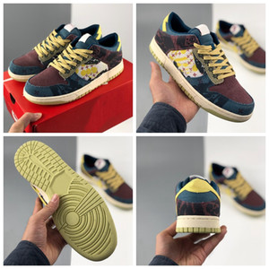 2020 New Color Lemon Wash Running Shoes for Women Mens Trainers Sneakers Community Garden Multi-Color Skateboard Sports Size 36-45