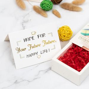 الإبداعية برونز بطاقات المعايدة عيد الحب يوم الخبز زهرة متجر هدية عيد الأم شكرا لكم نعمة بطاقة التخصيص VTKY2170