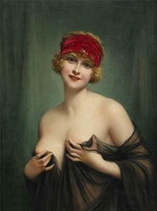 Retrato de la muchacha noble pintado a mano de la decoración del hogar impresión de HD pintura al óleo sobre lienzo de arte pared de la lona cuadros para decoración de la pared 201113