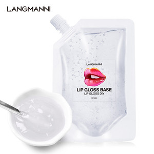 50ml Transparent Lip Gloss Base Oil DIY Lip Gloss Raw Material Gel For Lip Gloss Lipgloss Handmake Liquid Lipstick 50pcs